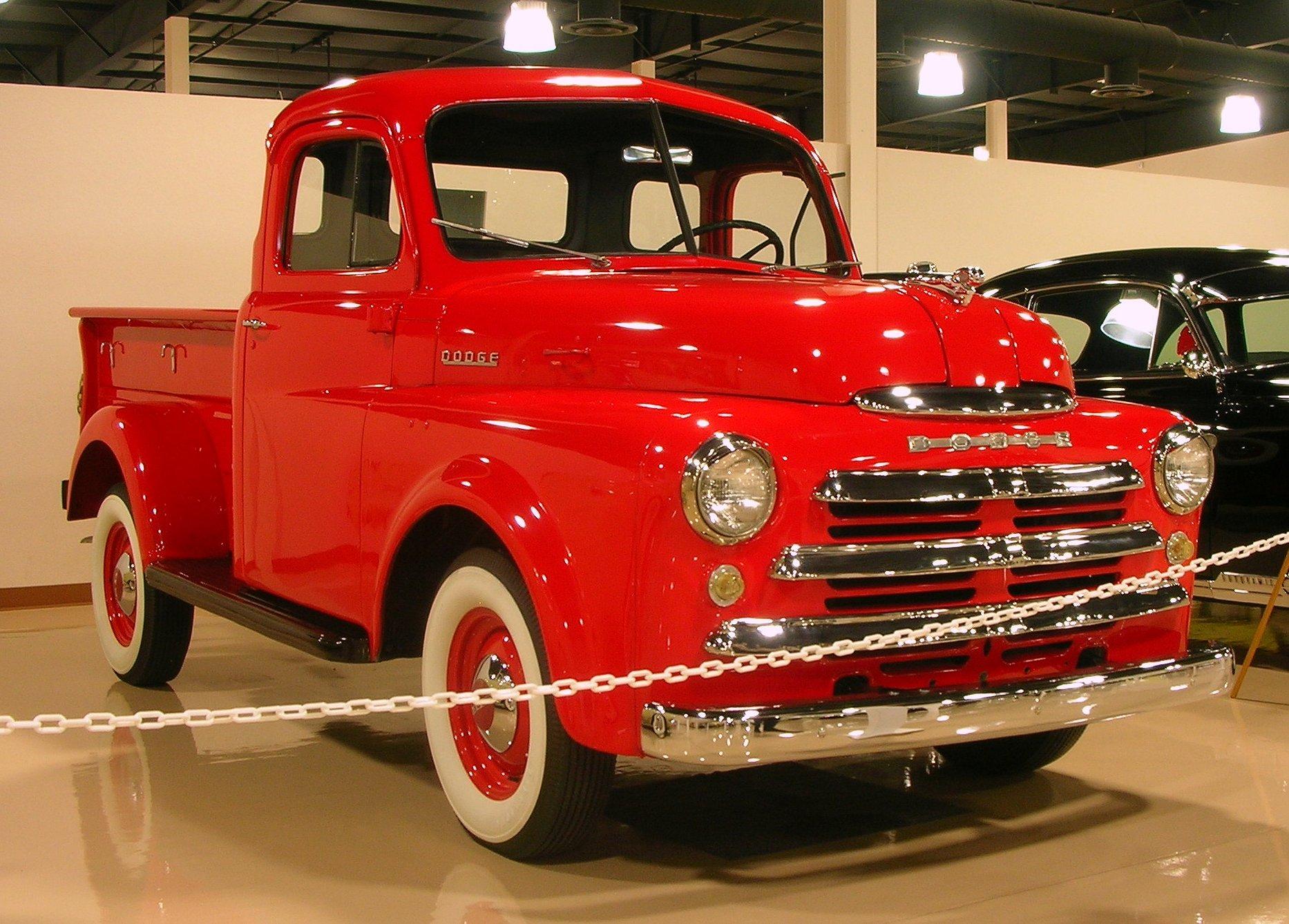1948 Dodge B-Series Pickup Truck Inline 6